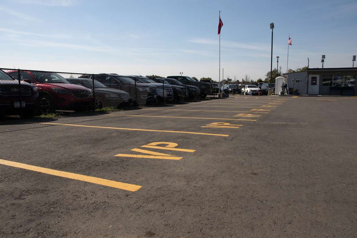 Front Row Valet Park with Personal Care Parking at Skyway Park